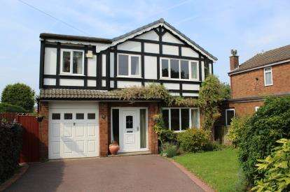4 Bedrooms Detached House for sale in Arley Road, Appleton, Warrington, Cheshire