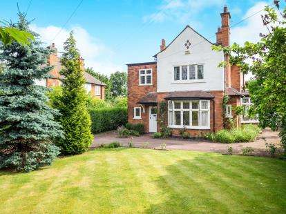 5 Bedrooms Detached House for sale in Melton Road, West Bridgford, Nottingham, Nottinghamshire