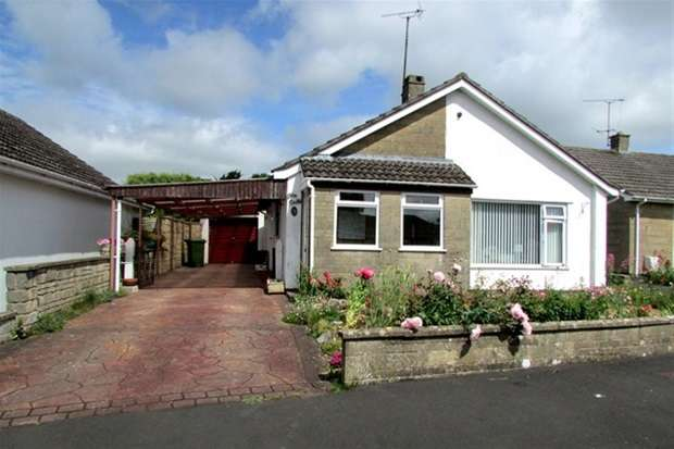 2 Bedrooms Detached Bungalow for sale in Critchill Close, Frome