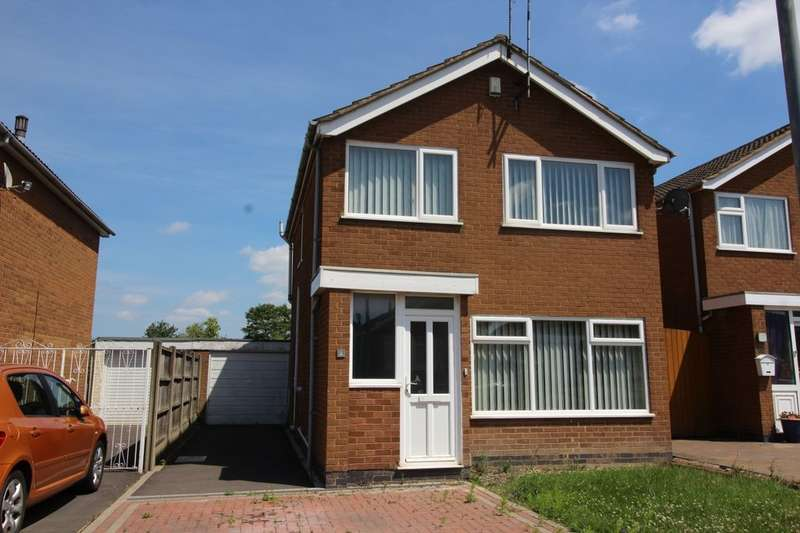 3 Bedrooms Detached House for sale in Nairn Close, Nuneaton, CV10