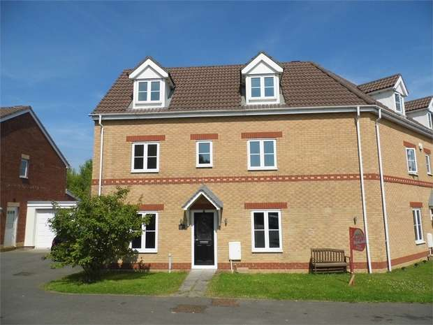 4 Bedrooms Semi Detached House for sale in Llys Y Bryn, Broadlands, Bridgend, Mid Glamorgan