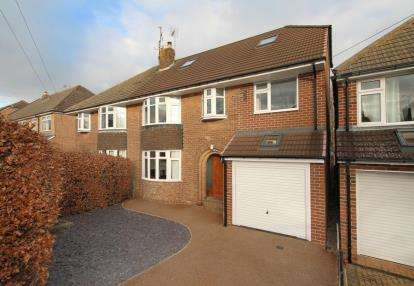 5 Bedrooms Semi Detached House for sale in Hallam Grange Rise, Sheffield