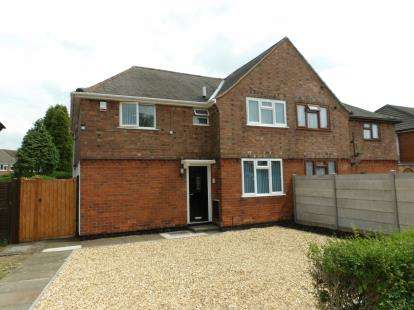 4 Bedrooms Semi Detached House for sale in Wyggeston Road, Coalville