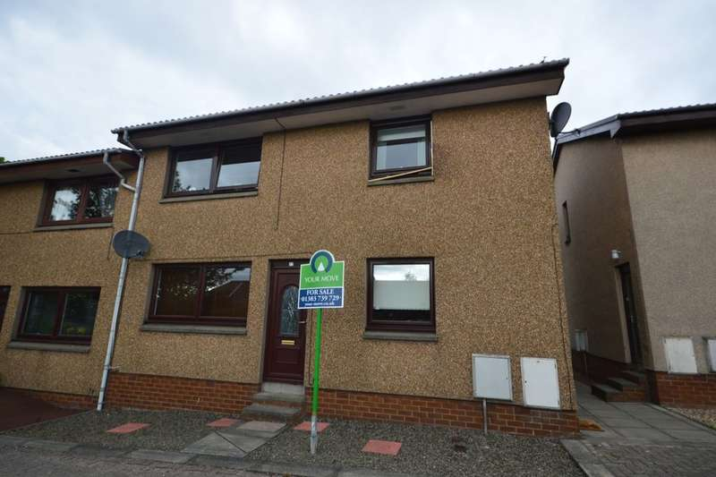 2 Bedrooms Flat for sale in Elgin Court, Dunfermline, KY12
