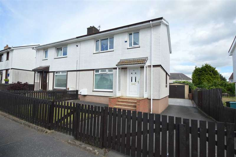 3 Bedrooms Semi Detached House for sale in Yett Road, Newarthill, Motherwell