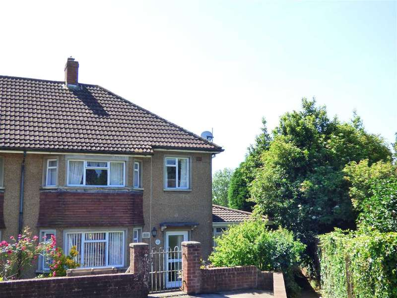 4 Bedrooms Semi Detached House for sale in St Tewdrics Road, Bulwark, Chepstow