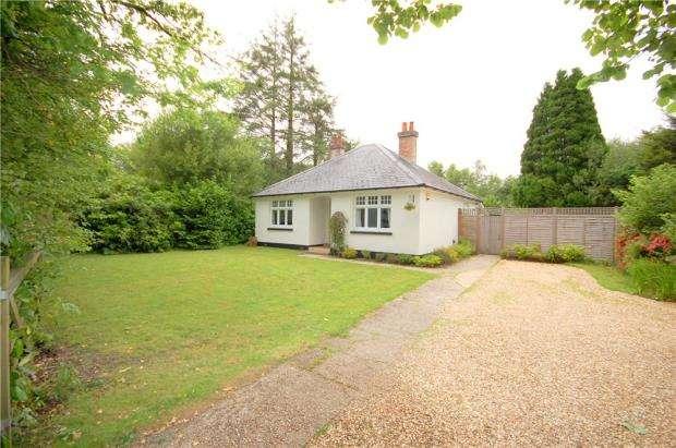 2 Bedrooms Detached Bungalow for sale in Wimborne, Dorset, BH21