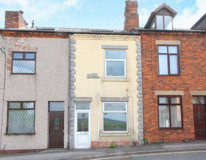 2 Bedrooms Terraced House for sale in Middlecroft Road, Staveley, Chesterfield, Derbyshire