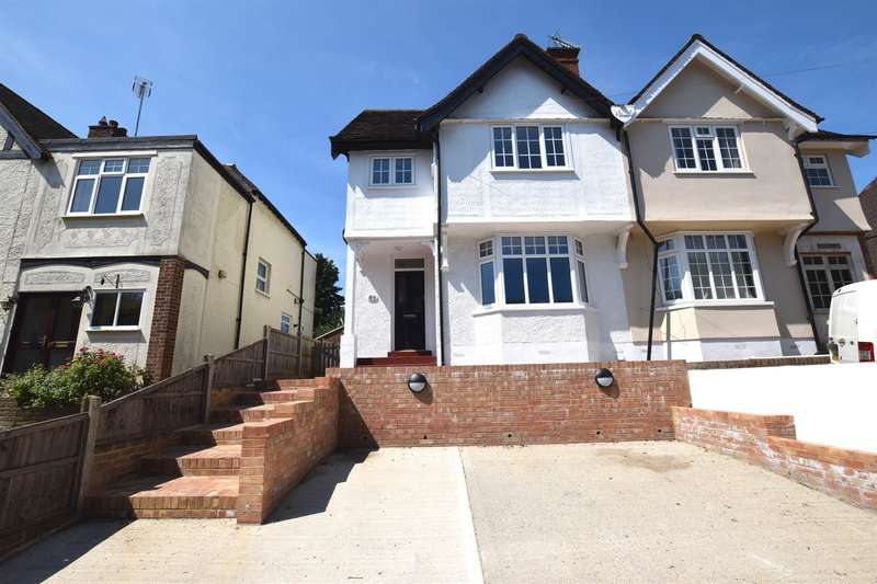 3 Bedrooms Semi Detached House for sale in Old Road, Harlow, CM17