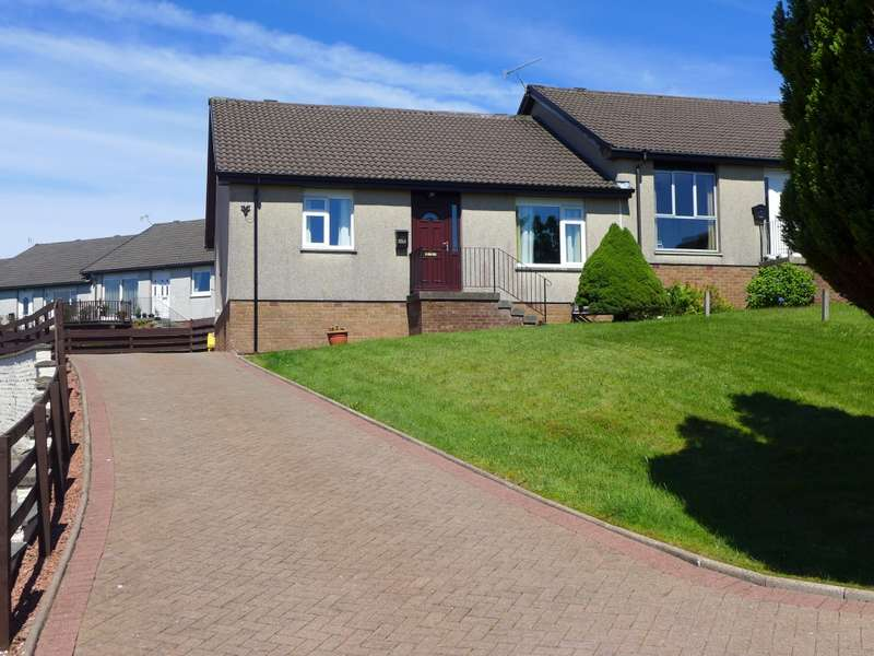 3 Bedrooms Semi Detached Bungalow for sale in 14 Dun Mor Avenue, Kilmory, Lochgilphead, PA31 8TP