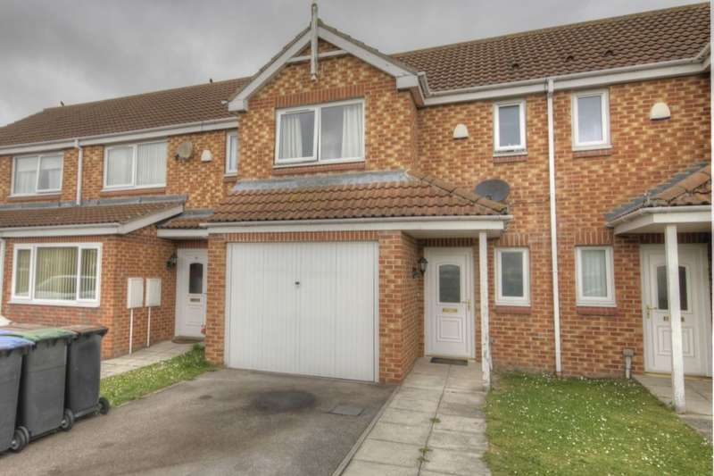 3 Bedrooms Semi Detached House for sale in The Chequers, Templetown, Consett, DH8