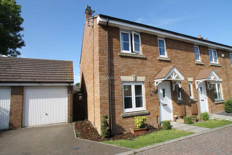 4 Bedrooms End Of Terrace House for sale in Carew Gardens, Honicknowle, PL5 3PB