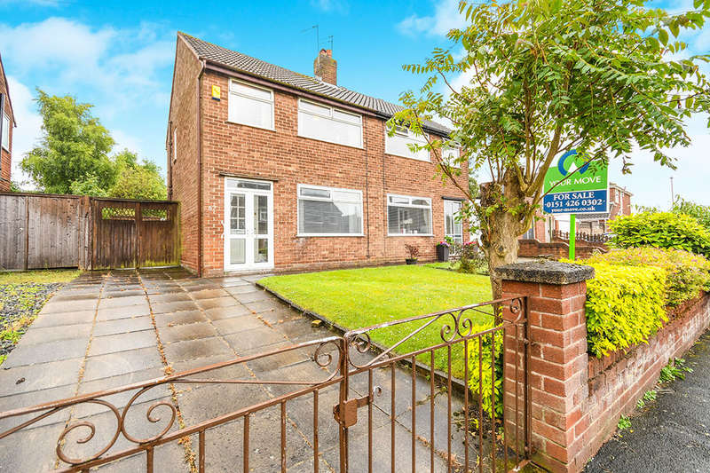 3 Bedrooms Semi Detached House for sale in Vining Road, Prescot, L35