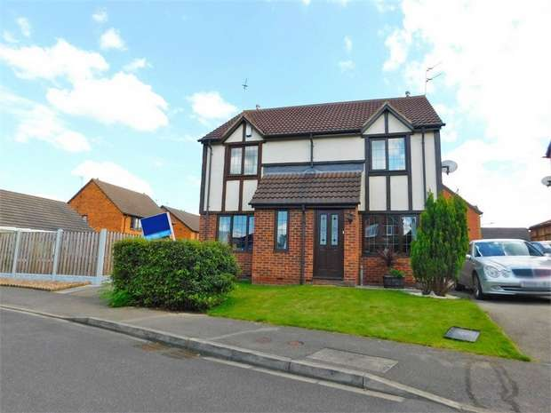 2 Bedrooms Semi Detached House for sale in Heaton Gardens, Edlington, Doncaster, South Yorkshire