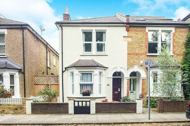 3 Bedrooms Semi Detached House for sale in Bonner Hill Road, Kingston Upon Thames, KT1