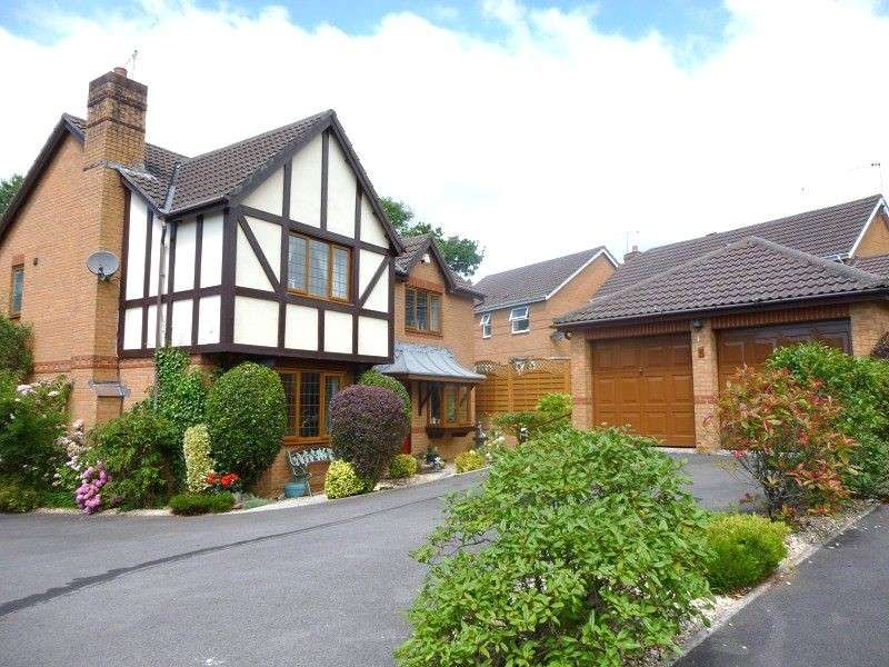 4 Bedrooms Detached House for sale in Llys Castell, Margam Village, Port Talbot, Neath Port Talbot. SA13 2UX