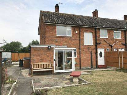 3 Bedrooms Semi Detached House for sale in Browns Drove, Swineshead, Boston, Lincolnshire