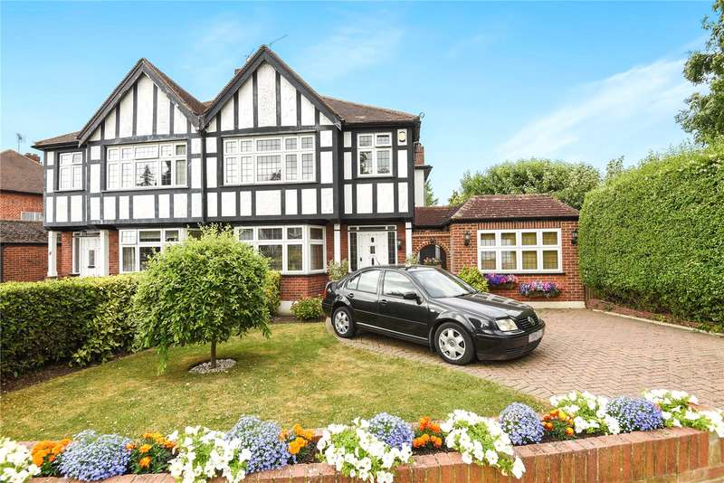 4 Bedrooms Semi Detached House for sale in Rodney Gardens, Pinner, Middlesex, HA5