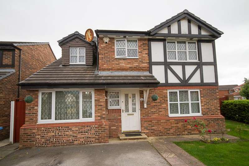 4 Bedrooms Detached House for sale in Winterley Drive, L26