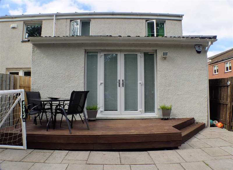 3 Bedrooms End Of Terrace House for sale in Landemer Drive, Rutherglen, GLASGOW