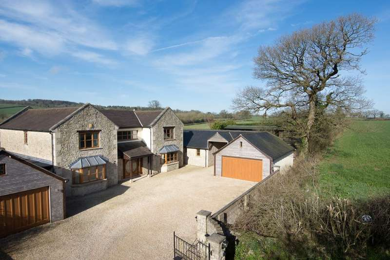 6 Bedrooms Detached House for sale in Little London, Oakhill, Somerset, BA3 5AZ
