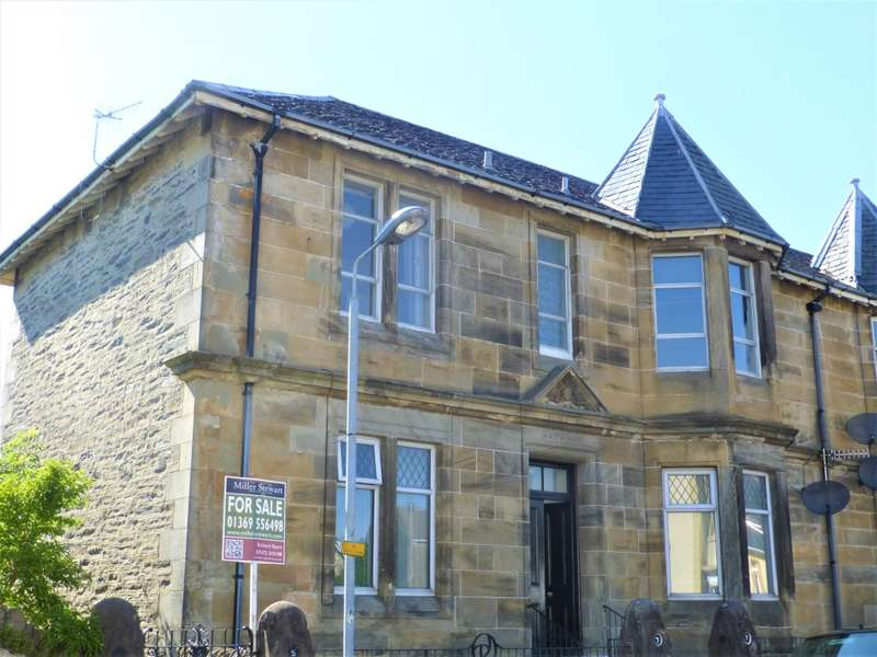 2 Bedrooms Flat for sale in 5 Victoria Road, Dunoon, PA23 7EA