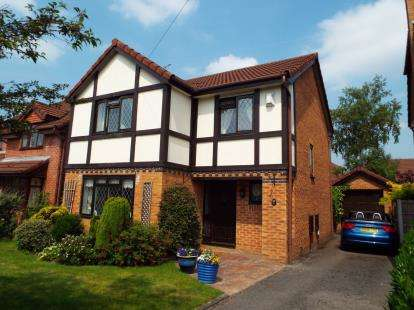 4 Bedrooms Detached House for sale in The Firs, Mold, Flintshire, CH7