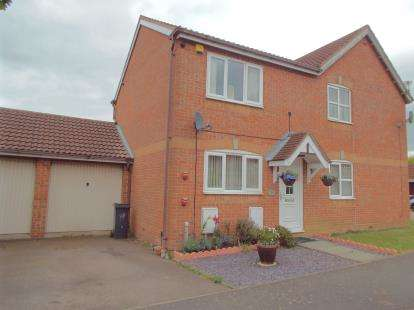 2 Bedrooms Semi Detached House for sale in Hazeldene Road, Hamilton, Leicester, Leicestershire