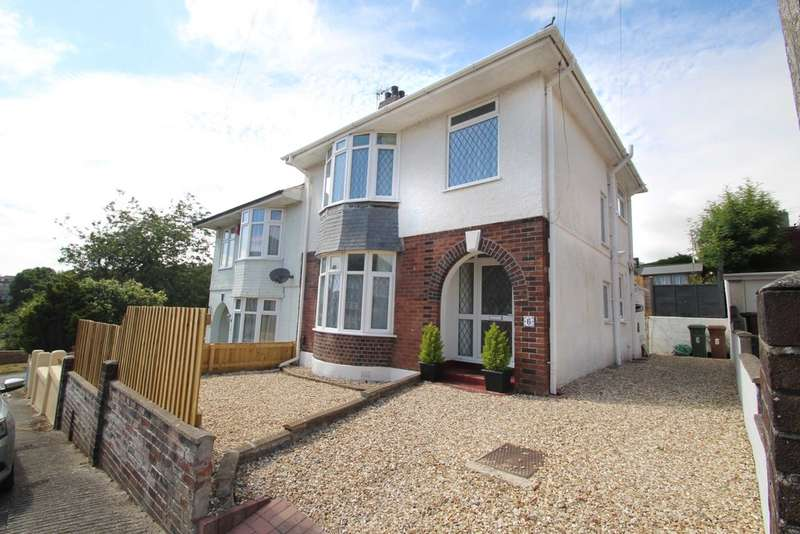 3 Bedrooms Semi Detached House for sale in Laira, Plymouth