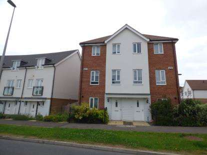 4 Bedrooms End Of Terrace House for sale in Top Fair Furlong, Redhouse Park, Milton Keynes, Bucks