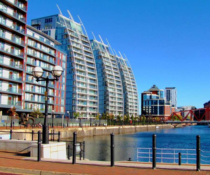 1 Bedroom Apartment Flat for sale in NV Buildings, Salford Quays