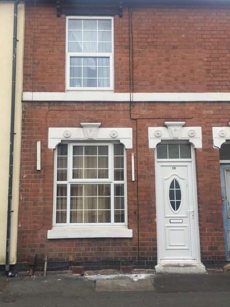 2 Bedrooms Terraced House for sale in Prosser Street, Wolverhampton, West Midlands, WV10