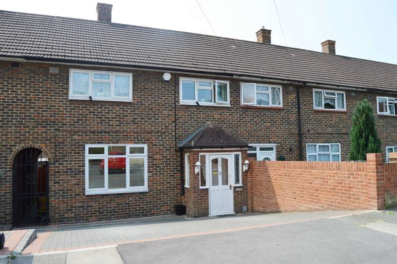 3 Bedrooms Terraced House for sale in Petersfield Avenue, Romford