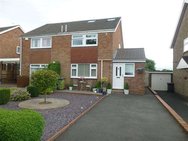3 Bedrooms Semi Detached House for sale in Orchard Way, Dringhouses, York