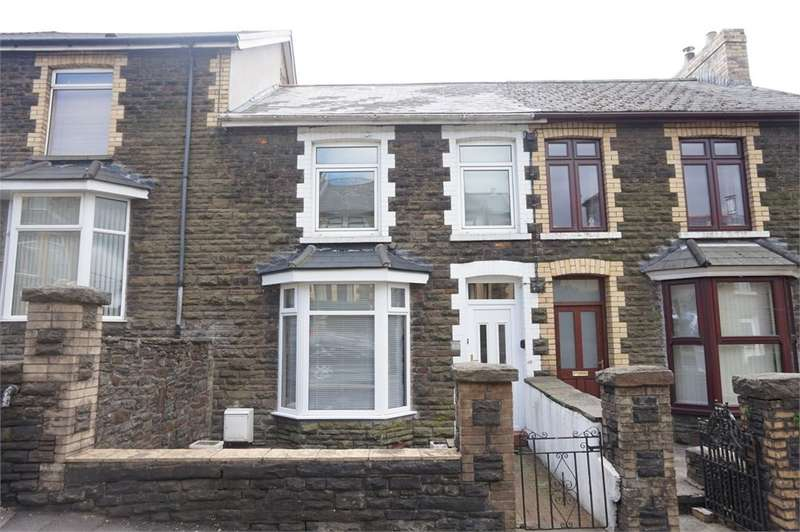 3 Bedrooms Terraced House for sale in Bedwellty Road, Aberbargoed, Bargoed, CF81