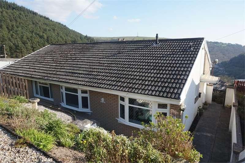 2 Bedrooms Semi Detached Bungalow for sale in 4 Penrhiwgarreg Bungalow, ABERTILLERY, NP13