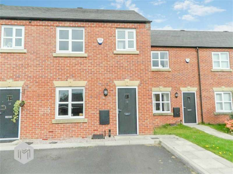 3 Bedrooms Terraced House for sale in Hutchinson Close, Radcliffe, Manchester, Lancashire
