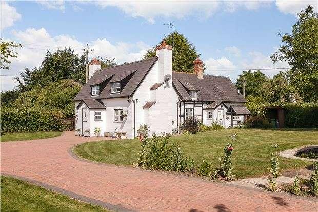 4 Bedrooms Detached House for sale in Street End Cottage, Minsterworth, Gloucester, Gloucestershire, GL2 8JJ