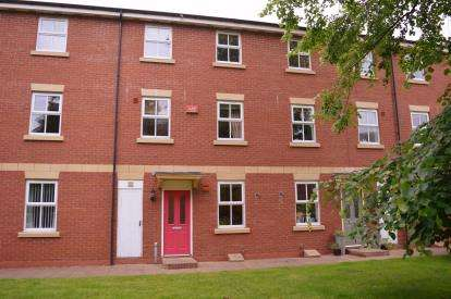 4 Bedrooms Terraced House for sale in Merlin Court, Nightingale Walk, Burntwood