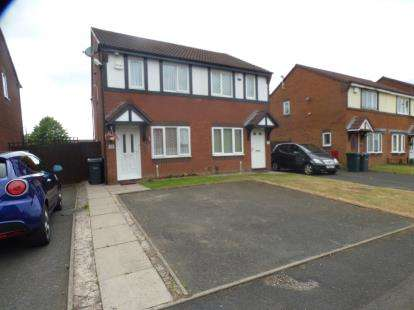 2 Bedrooms Semi Detached House for sale in Pimpernel Drive, Walsall, West Midlands