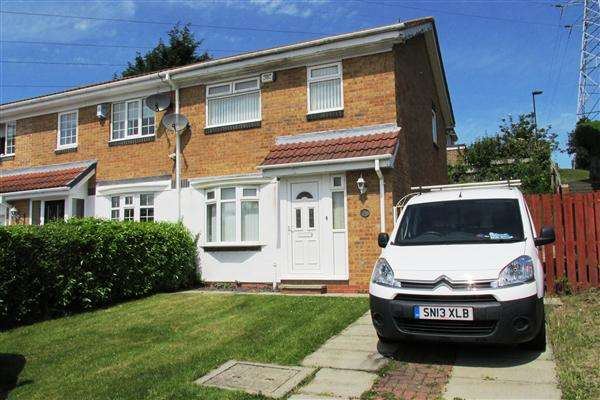 3 Bedrooms Semi Detached House for sale in Crofton Way, Newcastle upon Tyne