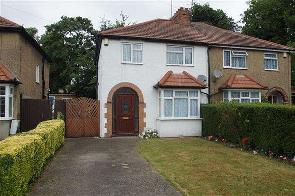 3 Bedrooms Semi Detached House for sale in Seymour Road, Chalvey, Slough