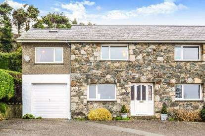 4 Bedrooms Semi Detached House for sale in Caernarvon Road, Pwllheli, Gwynedd, LL53
