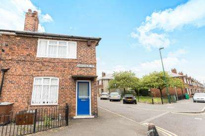 1 Bedroom End Of Terrace House for sale in Canterbury Road, Nottingham, Nottinghamshire