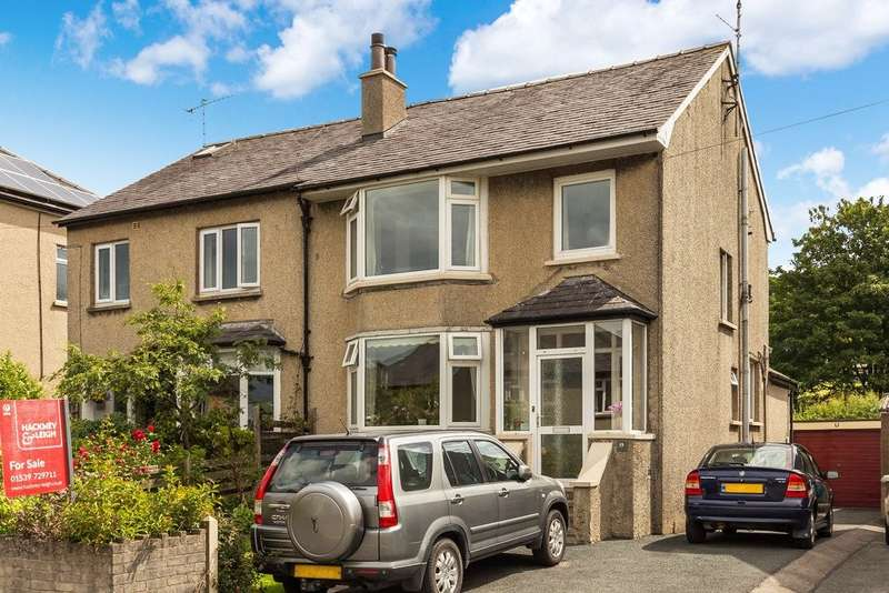 3 Bedrooms Semi Detached House for sale in 19 Castle Green Close, Kendal, Cumbria, LA9 6AT