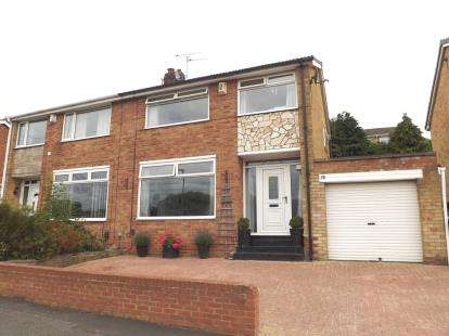 3 Bedrooms Semi Detached House for sale in Seymour Crescent, Eaglescliffe, Stockton-On-Tees, Durham