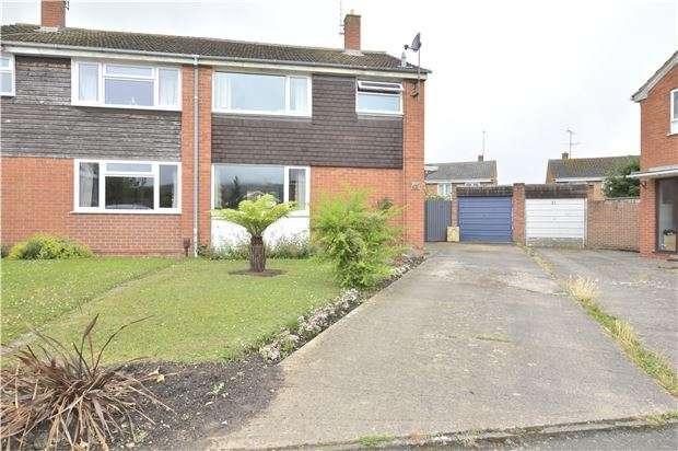 3 Bedrooms Semi Detached House for sale in Denley Close, Bishops Cleeve, GL52 8EG