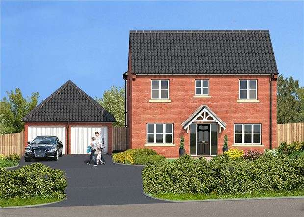 4 Bedrooms Detached House for sale in Hillcrest, Norton, Old Tewkesbury Road, Norton, GLOUCESTER, GL2 9LR