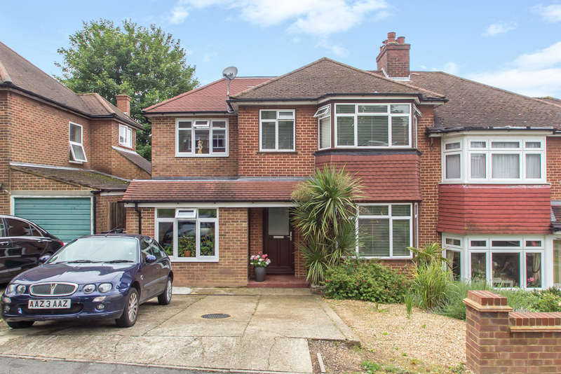 4 Bedrooms Semi Detached House for sale in Eskdale Gardens, Purley, CR8 1EY