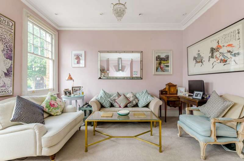 2 Bedrooms Flat for sale in Fulham Palace Road, Fulham Broadway, SW6